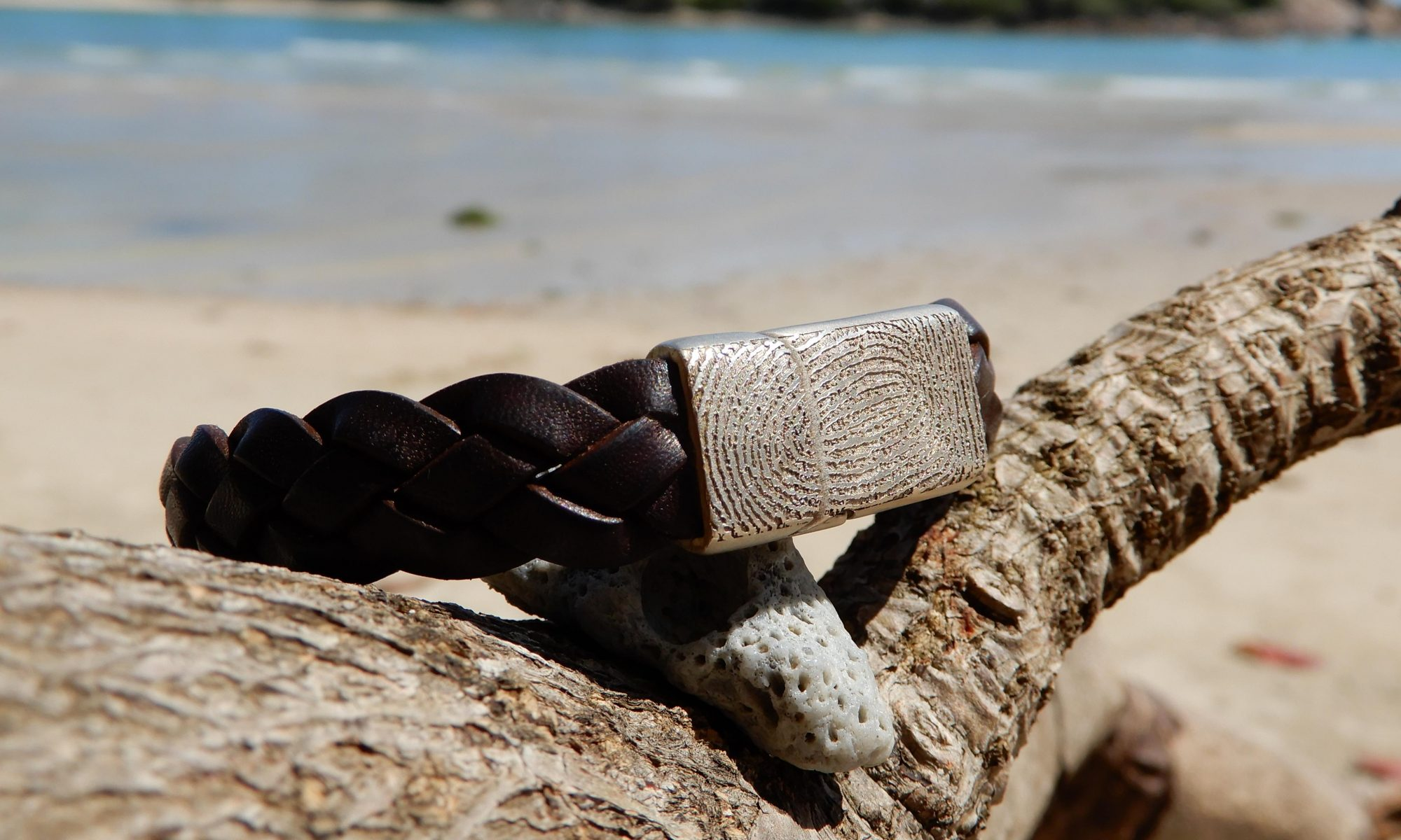 Pure Luxury personlige smykker med fingeraftryk